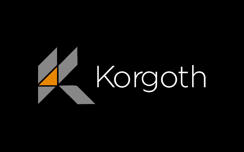 korgoth programming language logo